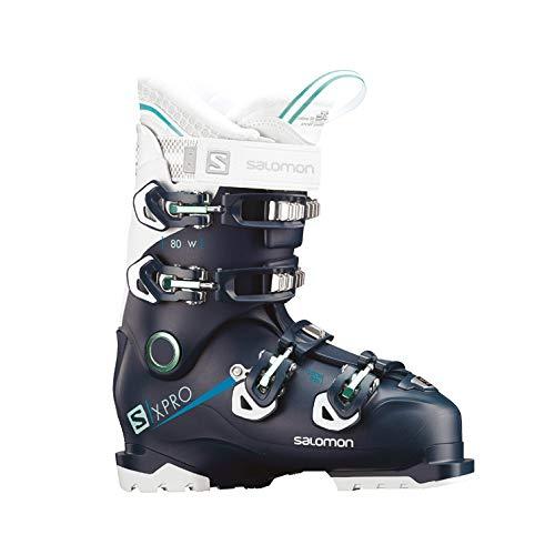 Salomon  Botas de esquí X Pro 80 W Petrol BL/WH/ABL, Color Bleu Petrol, tamaño...