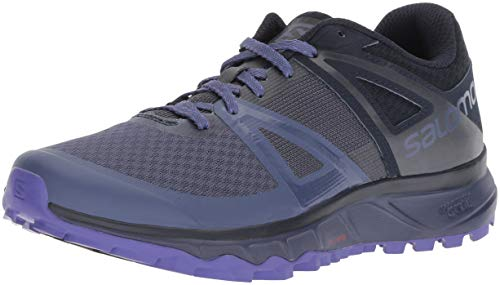 Salomon TRAILSTER W, Calzado de Trail Running para Mujer, Azul (Crown Blue/Navy...