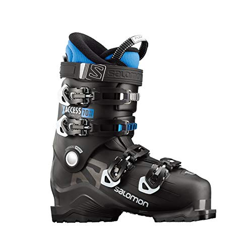 Salomon X-Access 70 Wide Botas de esquí, 17/18, color BLACK / INDIGO BLUE,...
