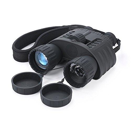 Infrarrojos Visión Nocturna prismáticos qiyat 4 x 50 HD Digital de caza por infrarrojos telescopio con pantalla TFT LCD de 1,5 pulgadas, 980 m/300 M...