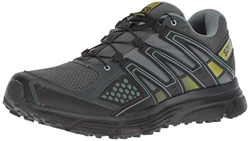 Salomon X-Mission 3, Zapatillas de Trail Running para Hombre, Verde (Urban Chic/Black/Guacamole),...