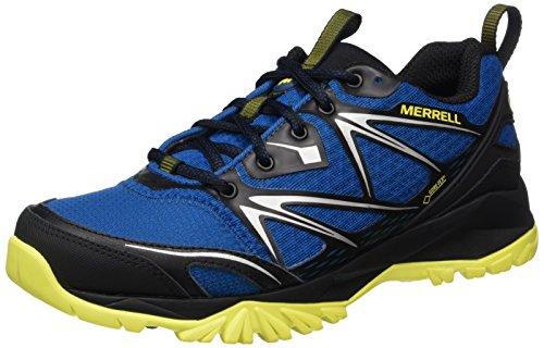 Merrell Capra Bolt GORE-TEX, Zapatillas de Senderismo para Hombre, Azul (Mykonos), 41...